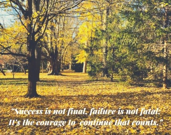 Finding The Courage To Continue